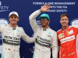 Hamilton pips Rosberg to take fifth Chinese pole