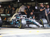 Mercedes pair set ominous pace in FP1