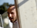 Kubica tests a single-seater GP3 car