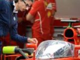 Ferrari sign key FIA man