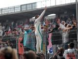 Hamilton 'happy' to battle through German GP 'negativity'