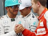 Lewis doffs his cap to Vettel