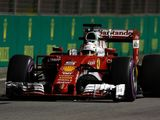 Sebastian Vettel eliminated in Q1 after suspension failure