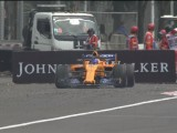 Alonso falls short of Schumacher record with Mexico DNF