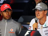 Hamilton now understands influence Schumacher had in pushing F1 teams forward