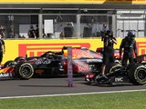 Hamilton and Verstappen collide at Silverstone