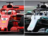 F1 pre-season testing: Sebastian Vettel edges Valtteri Bottas on day two
