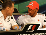 Hamilton is 'in a different league' to Schumacher - Jordan
