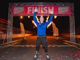 Monger completes 140 mile triathlon-style charity challenge