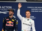 Ricciardo backs Rosberg to seal first title