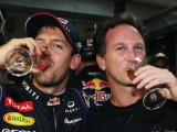 Vettel overwhelmed by fourth consecutive title win
