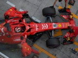 Leclerc sets the pace on Ferrari debut