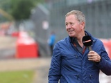 Brundle recovering after falling ill at British GP