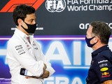 Horner hits back at Wolff's 'lottery number' jibe