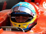 FP1: Alonso quickest as Hamilton stops on track