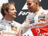 Button: Hamilton brought out my best