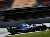 Hamilton beaten by Bottas to pole as Mercedes smash Ferrari