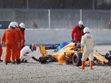 F1 testing: Alonso's wheel loss drama 'no big deal' - McLaren