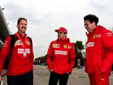 Vettel still has priority, says Binotto