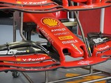 Ferrari unveils new Formula 1 nose design for Singapore GP