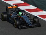 Nico Hulkenberg fastest as hydraulics issue stops McLaren