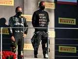 FIA clarifies podium conduct after Hamilton protest