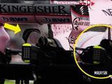 Tech Bite: Force India's two-element monkey seat