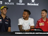 Hamilton, Vettel discuss Ricciardo's future