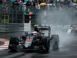 Button: Car was 'scary' in wet conditions