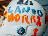 Norris to wear race helmet designed by six-year-old fan at British Grand Prix