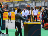 Hamilton hails first black woman to stand on an F1 podium