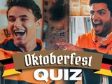 McLaren duo Sainz and Norris play Oktoberfest Quiz