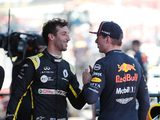 Ricciardo thinks Max is now 'less fiery and erratic'