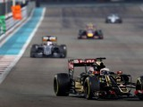 Grosjean rounds off Lotus career with points