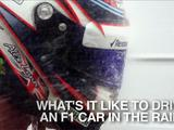 Formula 1: Tom Clarkson finds out what it's like to drive in the wet