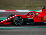 Leclerc tests past Ferrari model at Fiorano