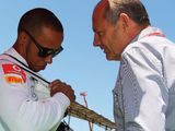 Hamilton's tribute to Ron Dennis