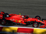 Leclerc heads Vettel to secure Ferrari front row at Spa
