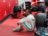 Hamilton summoned to stewards over pit entry breach