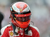 Brazilian GP red flagged after Raikkonen crash