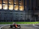 Alonso leads first Singapore practice
