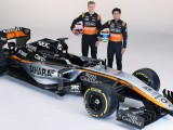 Force India unveils VJM08 in Mexico