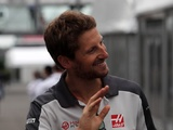 Grosjean beams with point on Haas home debut