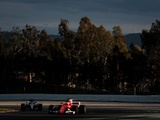 Raikkonen blasts clear as Mercedes hit by trouble