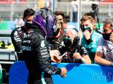 'I couldn't do it without her' - Hamilton on relationship with F1 physio Cullen