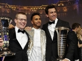 Hamilton, Mercedes crowned at FIA Gala