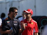 Ricciardo defends Vettel over Brazil F1 weighbridge incident