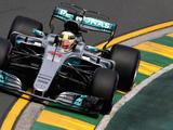 Lewis Hamilton fastest in first F1 practice in Australia
