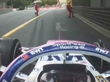 Perez 'nearly killed' Monaco marshals in terrifying unseen incident