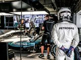 Hamilton fastest is washout second practice